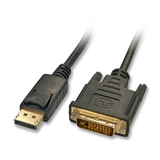 Lindy Adapterkabel DisplayPort Stecker/DVI-D Stecker 5m