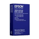 Epson Farbband rot/schwarz ERC38