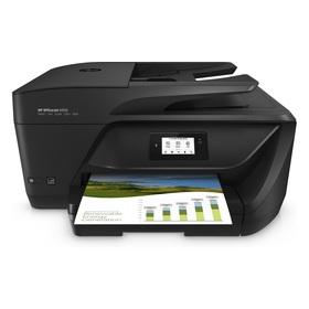 HP Officejet 6950 All-in-One Multifunktionsdrucker Tintenstrahl Farbe 4800x1200 dpi bis zu 28 Seiten/Min. (Kopieren) bis zu 29 Seiten/Min. (Drucken) 225 Blatt