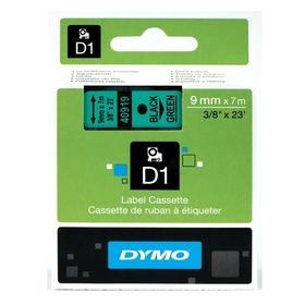 Dymo D1 Schriftband 12mmx7m schwarz auf weiß 45013