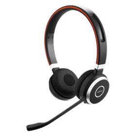 Jabra Evolve 65 MS Duo Headset on-ear drahtlos Bluetooth
