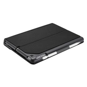 """Logitech SLIM FOLIO Keyboard Case mit integrierter Bluetooth-Tastatur für iPad 9,7"""" (iPad 5. und 6. Generation 2018) QWERTZ schwarz"""
