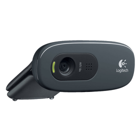 Logitech HD Webcam C270 Web-Kamera Farbe 1280 x720 Audio USB 2.0