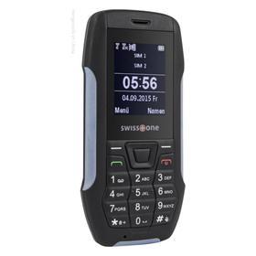 Swisstone SX 567 schwarz/blau 0,3 MP Kamera Bluetooth