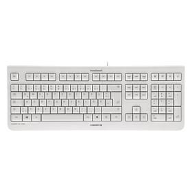 CHERRY Tastatur KC 1000USB grau Tastatur-Layout Deutsch