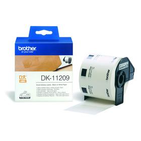 Brother DK11209 Adress-Etiketten 29x62mm 800St./Rolle