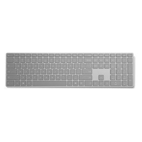 Microsoft Surface Tastatur Bluetooth grau