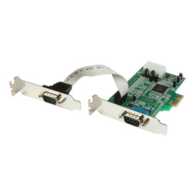 StarTech PCI Express Schnittstellenkarte Serial RS-232 2 Port Low Profile
