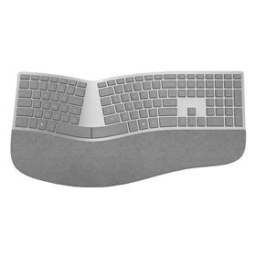 Microsoft Surface ergonomische Tastatur silber