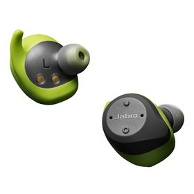 Jabra Elite Sport Ohrhörer In-Ear Ohrhörer mit Mikrofon Bluetooth schwarz/grün