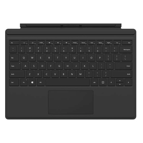 Microsoft Surface Pro (2017) Type Cover schwarz Layout deutsch