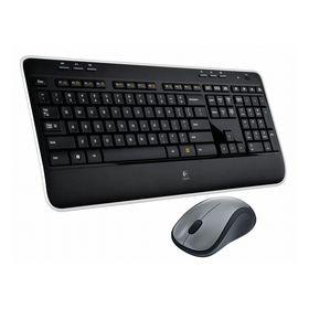 Logitech MK520 Cordless Desktop Tastatur/Mouse-Set schwarz deutsch inkl. USB-Empfänger kabellos
