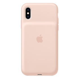 Apple Smart Battery Case für iPhone XS Sandrosa