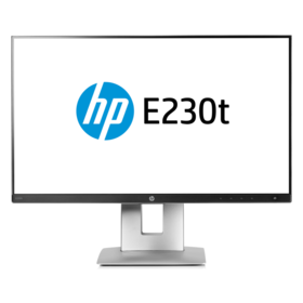 "HP EliteDisplay E230t Toch-Display 58,4 cm (23"") 1920 x 1080 Pixel 5 ms"