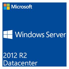 SB MS Windows Server 2012 R2 Datacenter 64bit, 4 Prozessoren, DVD, Deutsch, Win (SystemBuilder)