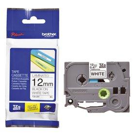 Brother Schriftband TZ-E231 12mmx8m schwarz auf weiß für P-Touch 2420PC/9200DX
