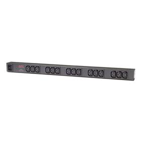 APC Basic Rack PDU Zero U Steckdosenleiste 0H 220V 15xC13 2,5m Kabel