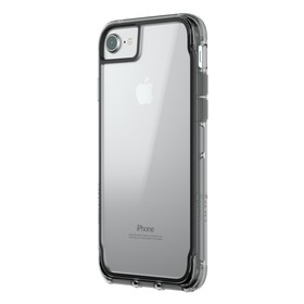 Griffin Survivor Clear für iPhone 8/7/6s schwarz/smoke/transparent