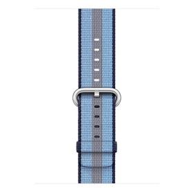 Apple gewebtes Nylonband für Apple Watch 42mm mitternachtsblau gestreift