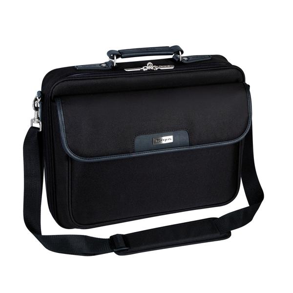 Targus NotePac Clamshell Case für 40,6cm (16'') Notebooks Polyester schwarz