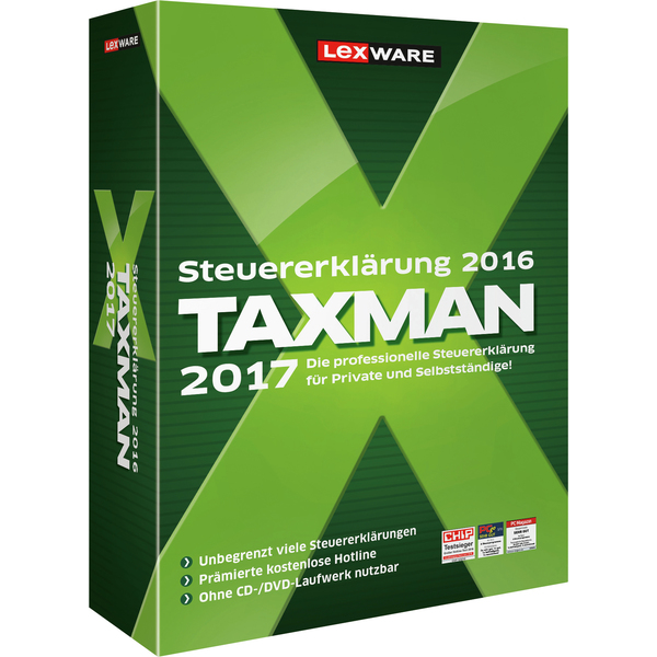 Lexware Taxman 2017 Vollversion