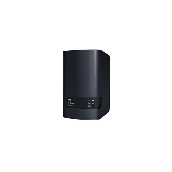 Western Digital My Cloud EX2 Ultra 20000 GB Gigabit Ethernet iSCSI RAID 0/1/JBOD
